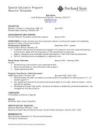 free education resume template sample hospital nurse educator