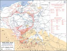 1939 Europe Map by Map Of Poland Prior To German Invasion August 1939