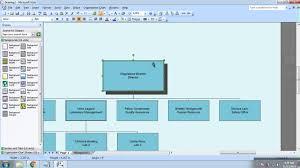 membuat struktur organisasi yang menarik cara membuat struktur organisasi di microsoft visio 2007 youtube