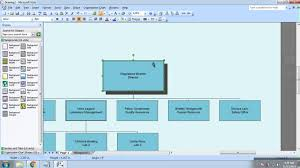 cara membuat struktur organisasi yang menarik cara membuat struktur organisasi di microsoft visio 2007 youtube