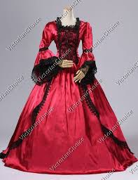 Marie Antoinette Halloween Costume Antoinette Renaissance Princess Ball Gown Dress Vampire Halloween