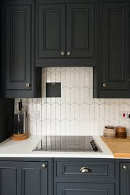 painted black cabinets in kitchen pictures how to decorate your home on a 40 budget