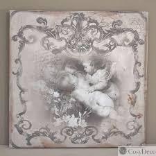 tableau pour chambre romantique tableaux anges romantiques vendus en duo pour une déco de charme