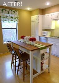 amazing of diy kitchen island with seating rustic diy kitchen