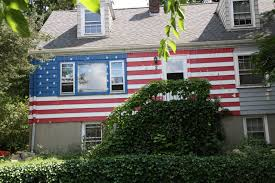 Decorative Flags For The Home 20 Ways To Decorate With The American Flag Homes Com