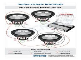 speaker box wiring diagram crutchfield crutchfield speaker guide