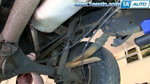 nissan armada rancho quick lift how to install replace rear shocks 2000 04 nissan frontier and