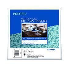 fairfield crafter u0027s choice pillow 18