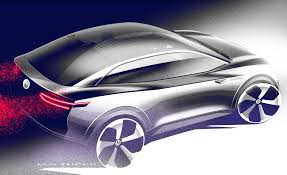 volkswagen electric concept the volkswagen id crozz concept is a self driving electric suv