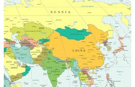Map Of China And India by The East Will Continue To Remain Iran U0027s Friend