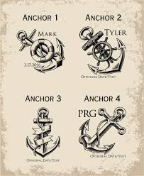 personalized anchor faux leather flask custom engraved mens flask