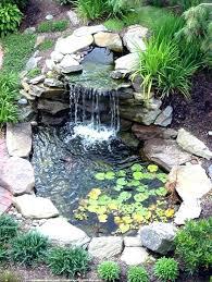 Garden Waterfall Ideas Waterfall Ideas