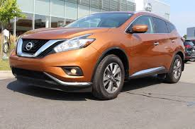nissan murano used 2015 used 2015 nissan murano sl cuir toit mags bluetooth in