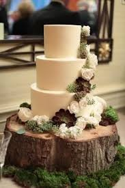 tree stump cake stand log slice wedding cake stand a real rustic tree trunk log slice