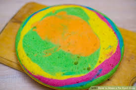 how to make a tie dyed cake 11 steps with pictures wikihow