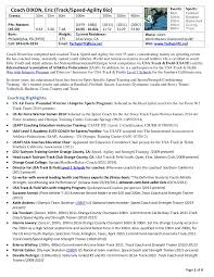 Champs Sports Resume Coach Dixon Resume Track Speed 2015