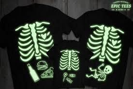 glow in the dark shirt glow in the dark clothing halloween