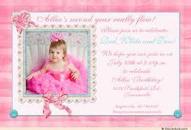 second birthday invitation wording choice image invitation