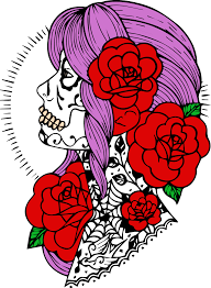 skull coloring pages skull skull tattoo tattoo des by iamnoel on