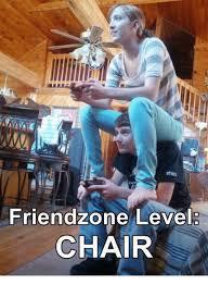Friends Zone Meme - friend zone level chair meme on esmemes com