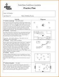 soccer lesson plan template 28 images soccer lesson plan