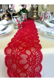 Navy Blue Lace Table Runner Julys Sale 6ft Lace Table Runner Dark Red 5 5in Wide X 72in Long
