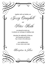 Invations Free Printable Wedding Invite Templates Kmcchain Info