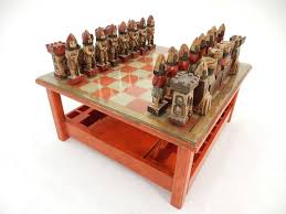 chess board coffee table 1950s italian large sculpture chess set and game coffee table for