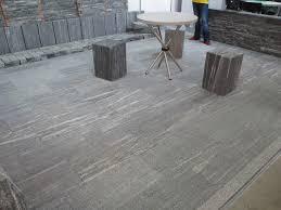 flamed granite flooring meze