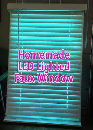 artificial windows for basement faux led window 9 steps