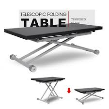 foldable table adjustable height folding table adjustable height desk portable computer office pc
