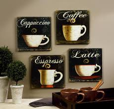Kitchen Wall Decorations by Coffee Cup Wall Decor Wall Shelves