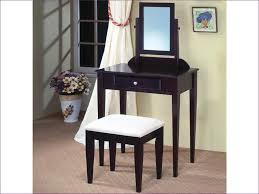 Makeup Vanity With Chair Bedroom Awesome Black Makeup Vanity Table Women U0027s Makeup Table