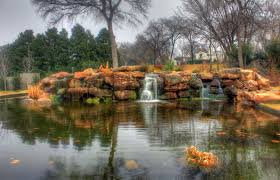 Texas scenery images Free stock photo of waterfalls and pond scenery in dallas texas jpg