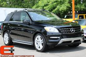 mercedes m suv 2012 used mercedes m class ml350 4matic suv at europlus