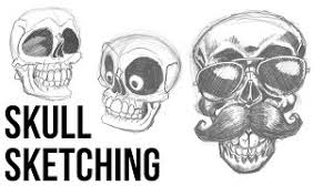 skull sketching video watch hd videos online without registration