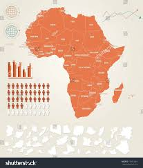 Ghana Map Africa by Infographic Vector Illustration Map Africa Stock Vector 174514664
