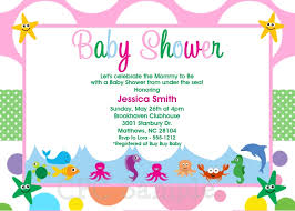 the sea baby shower invitations dhavalthakur