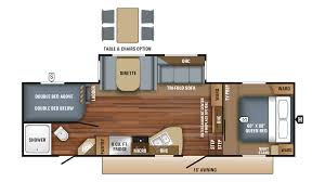 Fifth Wheel Floor Plans Bunkhouse 2018 Jayco Eagle Ht 26 5bhs Model