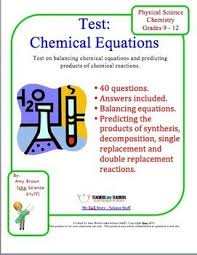30 best chemical equations and stoichiometry images on pinterest