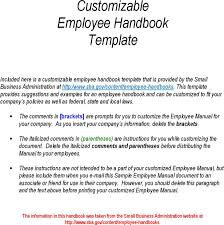 business manual template hr manual template download a medical