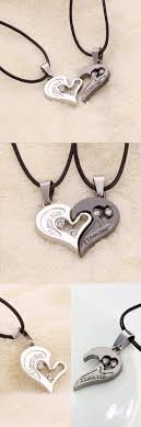 couple love heart necklace images Lover couple necklace i love you heart pendant couple necklaces jpg