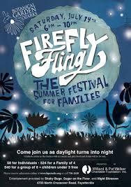 firefly fling set for july 14 at botanical garden of the ozarks