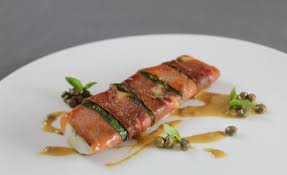 recette de cuisine plat recette de daurade au plat jambon cru basilic sauce tonnato par