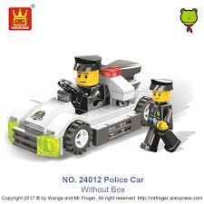 police car toy online shop wange bricks super police figures compatible building