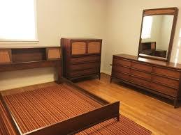 mid century modern bedroom sets mid century walnut bedroom set rhythm collection by lane epoch