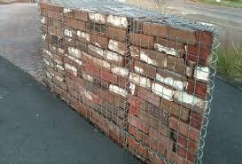 garden brick wall ideas brick block walls design gabion1 usa