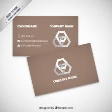 visit card design free vector 123freevectors