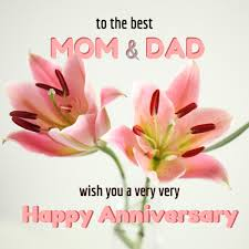 wedding wishes to parents wedding anniversary wishes images for your parents