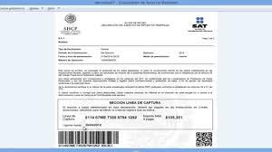 pago referenciado sat 2016 los impuestos línea de captura cuál es la fecha limite para pagar una